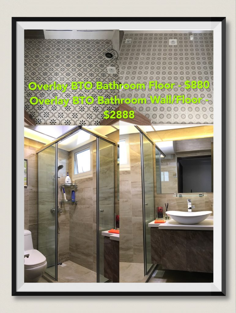 Hdb toilet overlay package